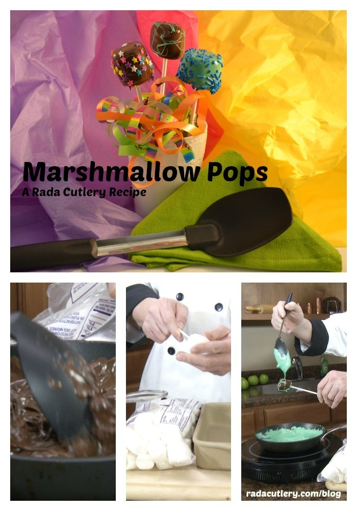 Marshmallow Pops at the Rada Blog