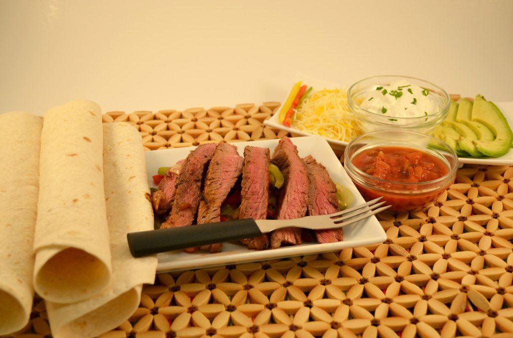 Beef Fajitas Recipe | Easy Steak Fajitas Recipe