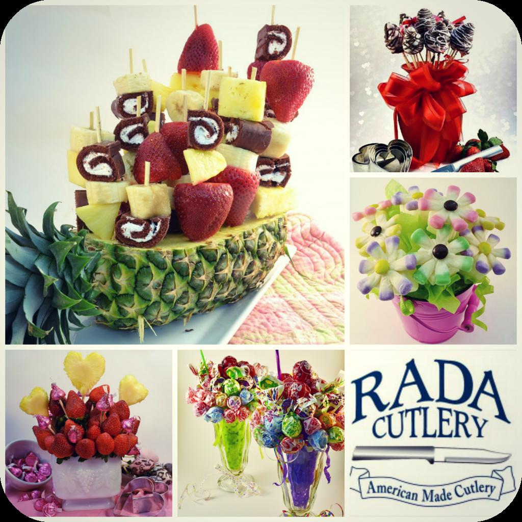 Fruit Bouquet Collage