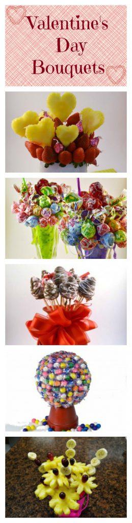 Valentines Day Bouquet Collage