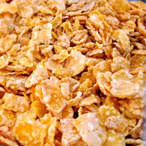 Corn flakes have many uses in the kitchen!