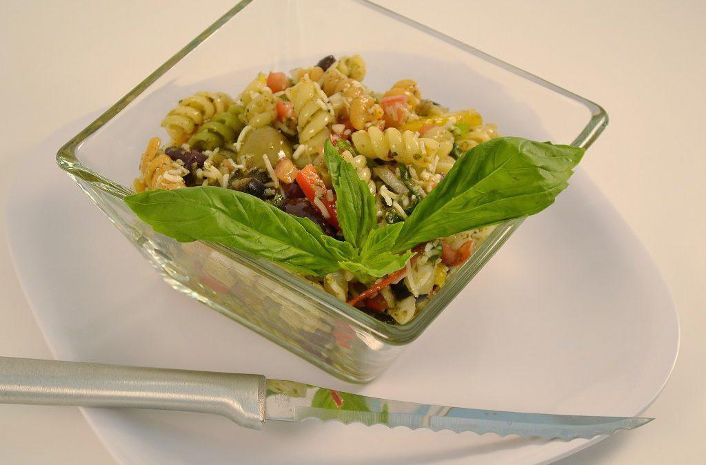 Pasta Salad Recipe | Basil Pesto Side Dish