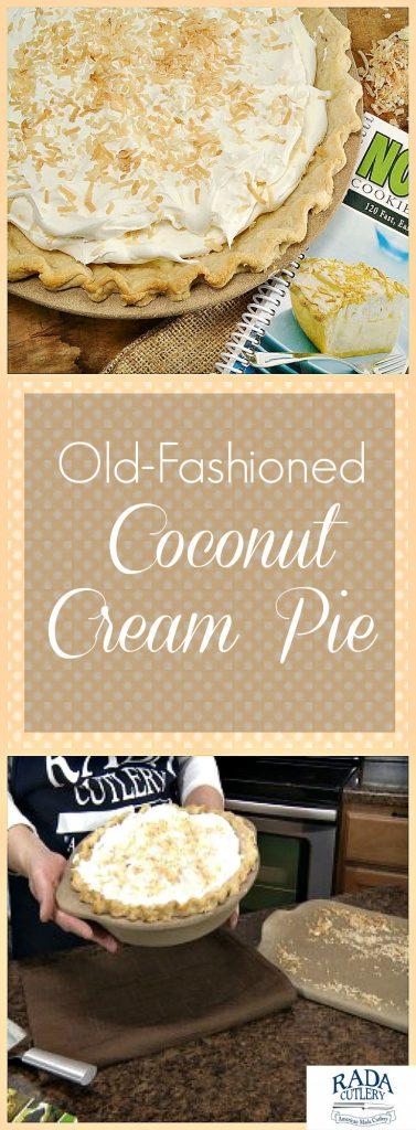 Coconut Cream Pie Collage
