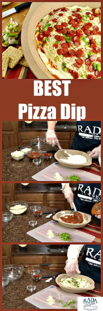Pizza Dip Collage