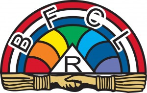 The symbol of the Rainbow Girls.