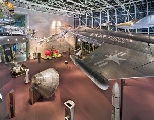 The National Air and Space Museum is a wonderful place to see amazing technology!