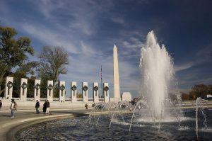 The amazing World War II memorial