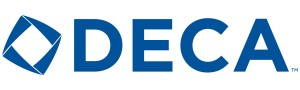 The DECA logo.