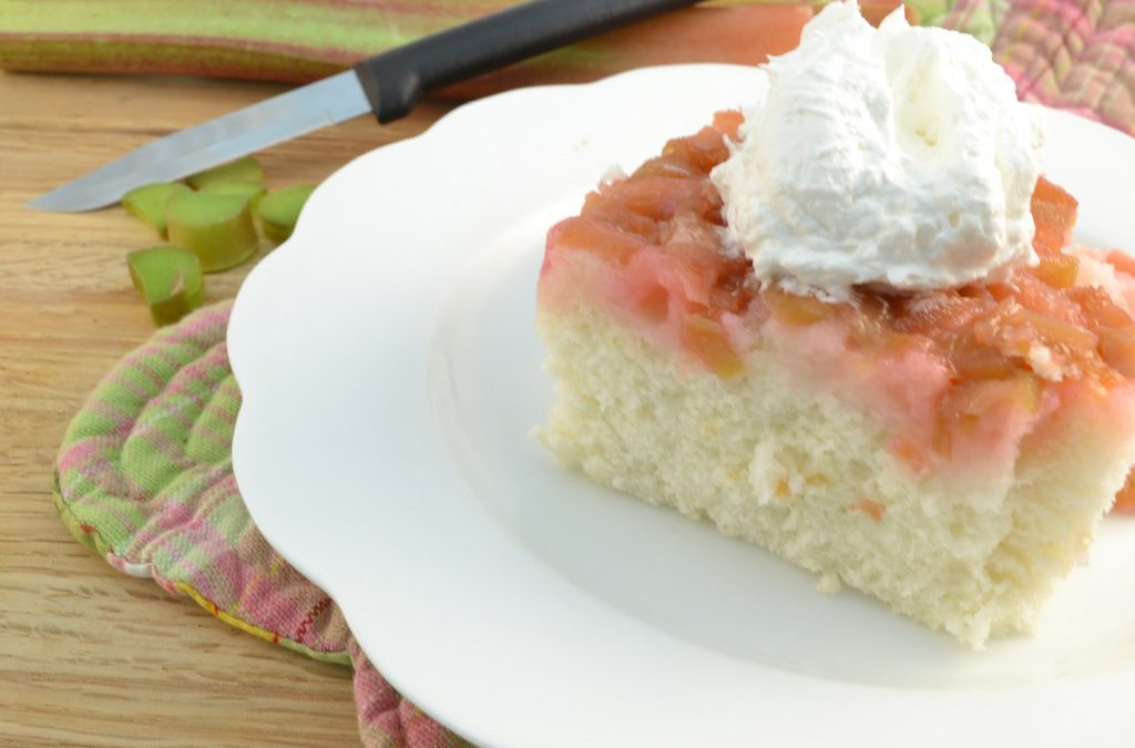 Rhubarb Cake Recipe | Upside-Down Cake Instructions
