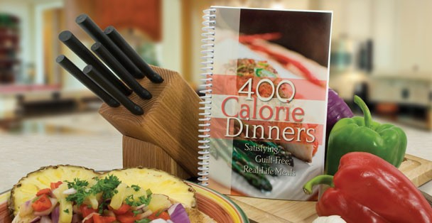 Rada's 400 Calorie Dinners cookbook is bursting with recipes!