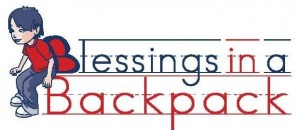 The logo for Blessings in a Backpack.