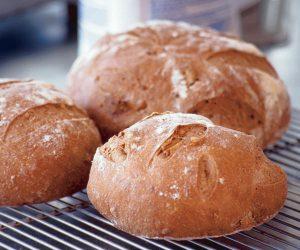 Homemade bread tastes delicious!