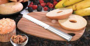 The amazing Rada Bagel Knife.