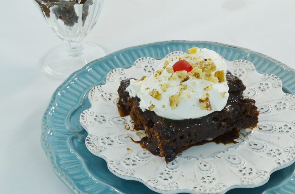 Hot Fudge Sundae Cake Dump And Bake Dessert Recipe