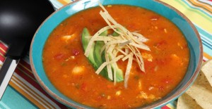 Chicken Tortilla Soup Quick Mix is your ticket to the perfect bowl of hot soup!