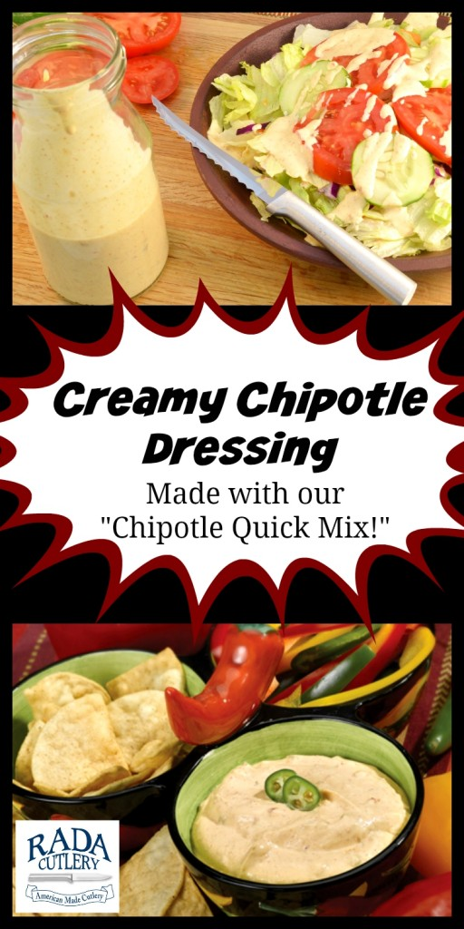 "Pictures of the ""Chipotle Dip Mix"" in use!"