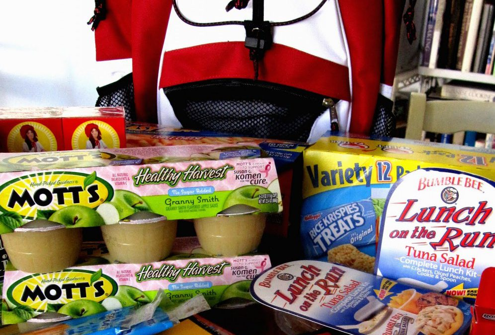 Backpack Fundraiser | Fundraising Food for Kids