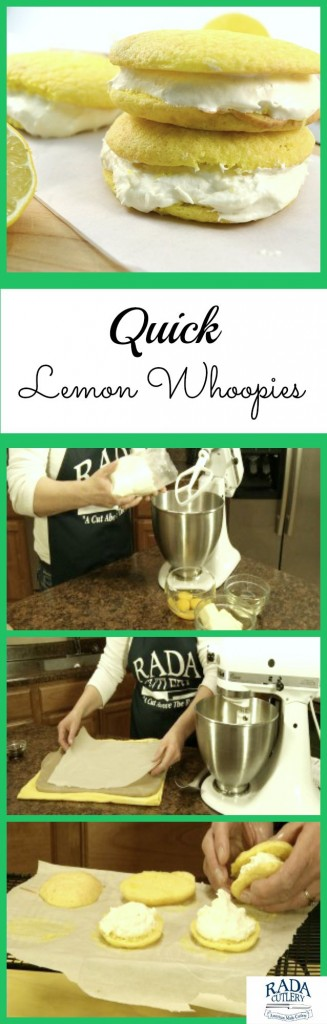 Lemon Whoopies