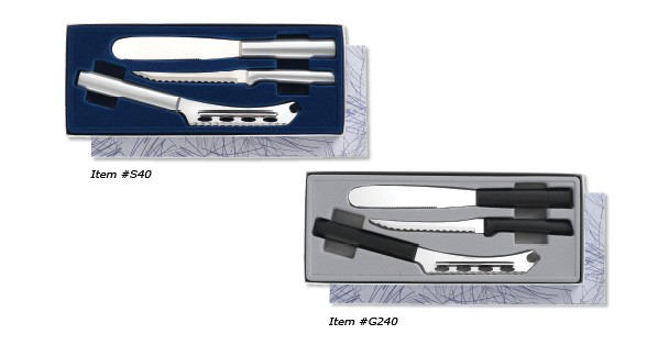 The amazing Sandwich Maker's Gift Set from Rada Cutlery features the Tomato Slicer, Cheese Knife, and Super Spreader!