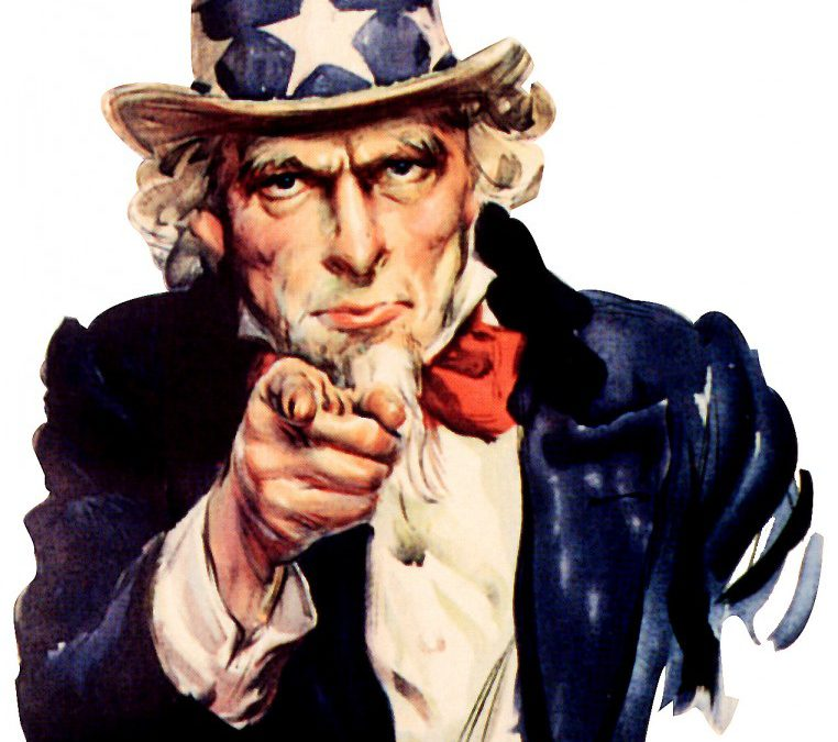 The classic picture of Uncle Sam.
