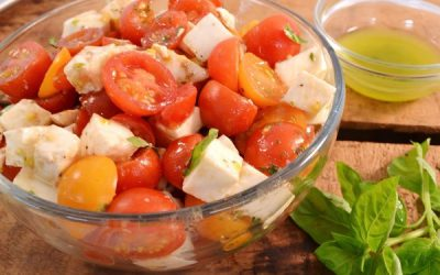 Cherry Tomato Salad Recipe | Classic Tomato Salad