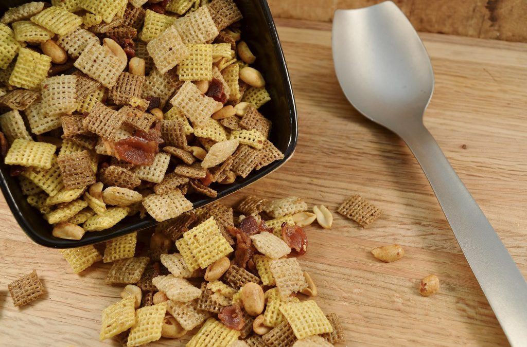 Homemade Snack Mix Recipe | Bacon and Maple Party Snack