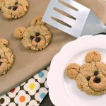 Delightful oatmeal bear cookies with a Rada Cutlery Turnover.