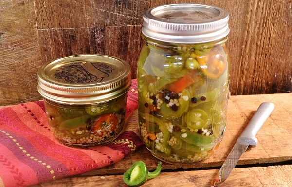 Jalapeno Pickled Peppers | Homemade Hot Peppers