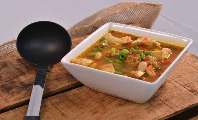 White Chicken Chili Recipe | Chicken Chili with Chicken Sausage