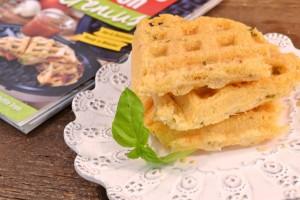 Cheese Crisps Recipe | Waffle Snack