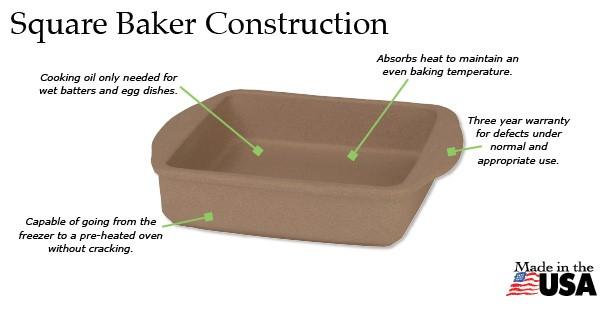 The amazing Square Baker is just what a home cook needs!
