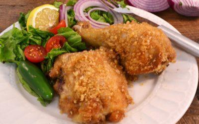 Crispy Baked Chicken | Easy Chicken Recipe