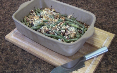 Blue Cheese Green Beans Recipe | Roasted Green Beans