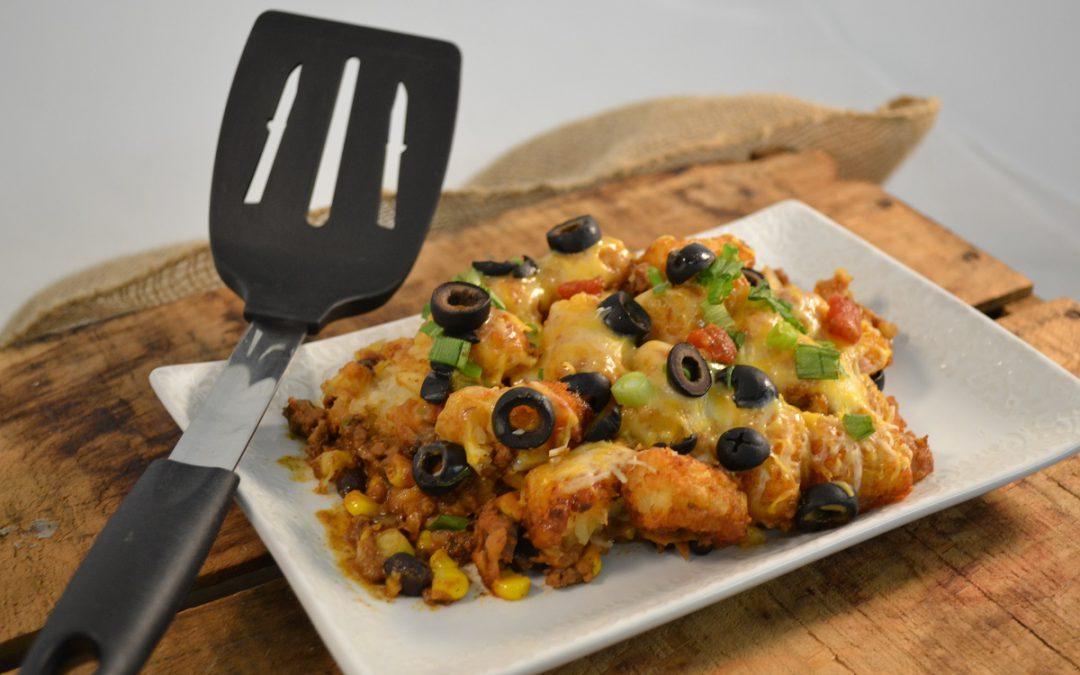 Mexican Tater Tot Casserole Recipe | Hamburger Casserole