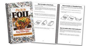 The Fix It in Foil recipe book.