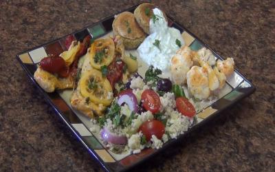 Mediterranean Cooking | Three Course Mediterranean Meal