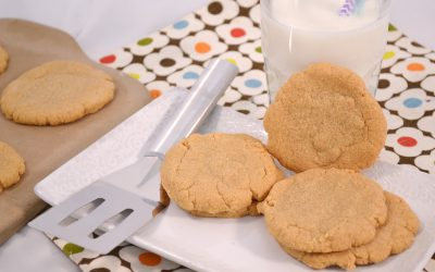 Flourless Peanut Butter Cookies Recipe | Only Three Ingredients