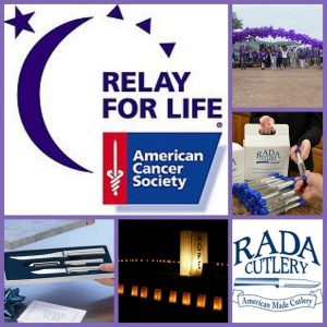 The Relay for Life Fundraiser by Rada Cutlery has all the tips and tricks to host a successful Relay fundraiser!