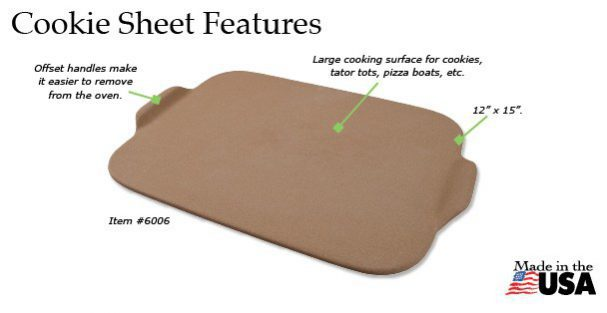The Rada Cookie Sheet has a number of appealing features.