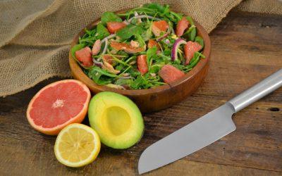 Salmon, Avocado, and Grapefruit Salad Recipe | Smoked Salmon Salad