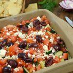 A beautiful 7-Layer Greek Dip