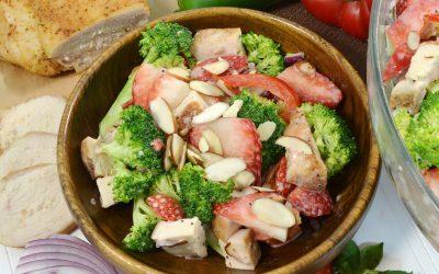 Chicken Strawberry Broccoli Bowl Recipe | Chicken and Broccoli Recipe