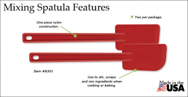 The Rada Mixing Spatula has a lot of appealing features.