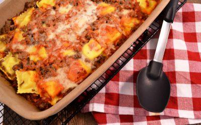 Ravioli Lasagna Recipe | Easy Ravioli Bake