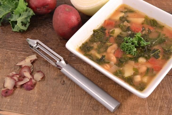 Kale Soup Recipe | Meat-Free Soup
