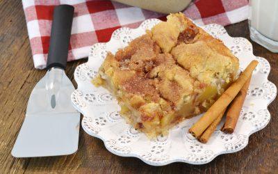 Apple Pie Snickerdoodle Bars Recipe | Easy Apple Pie Bars