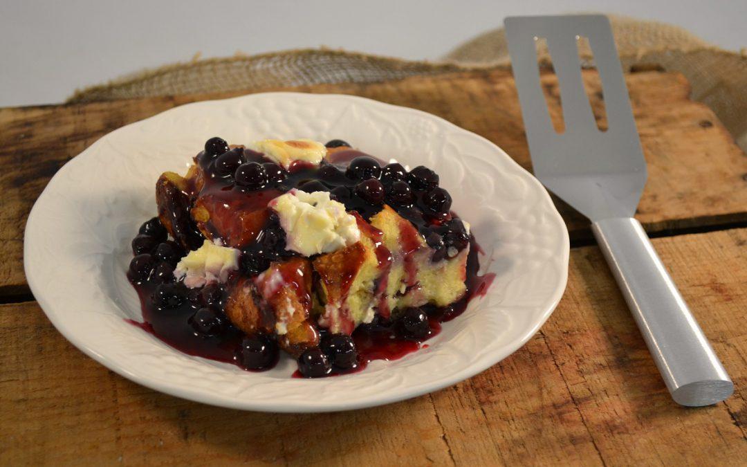 Blueberry French Toast Bake | Stuffed French Toast Recipe