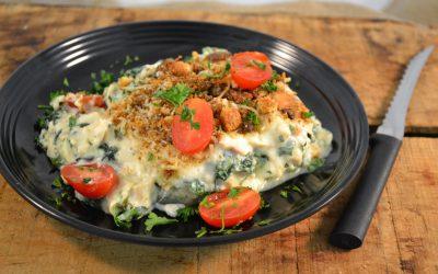 Chicken Caesar Lasagna Recipe | Creamy Chicken Lasagna