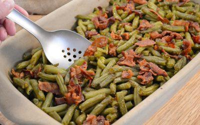 Arkansas Green Beans Recipe | Arkansas Bacon Green Beans