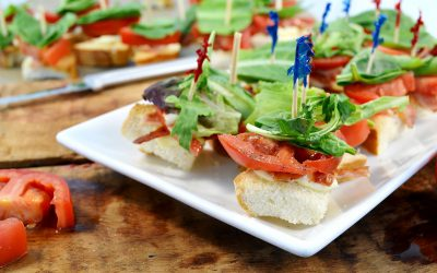 BLT Bites Recipe | Appetizers with Bacon